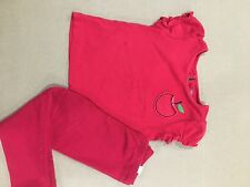 gymboree girls candy apple lot outfit set size 2 2t  shirt gap leggings worn 2-3
