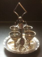 UOVO SODO piatto d'argento tabella al servizio Set c1888-97 James Deacon & SONS SHEFFIELD