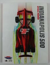 2018 Indianapolis 500 102nd Running & IndyCar GP Indy Official Program New