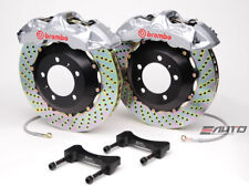 Brembo Front GT Brake 6P Silver 355x32 Drill GS300 GS350 GS430 GS460 IS250 IS350