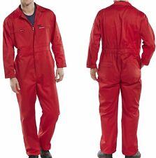 Kombi Overall rot 42-68 Arbeitsoverall Karneval Fasching Verkleidung Kostüm