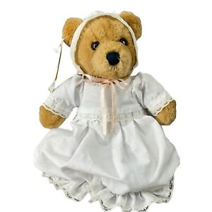 Dakin Teddy Bear Plush Baby Things 1983 Vintage 46-0053 Keepsake Bear Has Tags