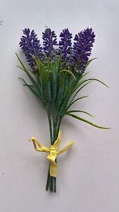 Wedding Artifical Silk Lavender Stems Flowers Bridal