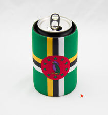 Dominica Flag Design Can Cooler