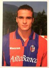 Cartolina Bologna Calcio 2001-02 Giacomo Cipriani