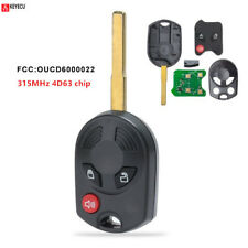 Remote Head Key Fob 315MHz4D63 for Ford Escape Fiesta Transit Connect OUC6000022