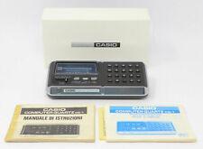 Calcolatore Casio CQ-1 computer quartz calculator and clock anni 70 watch comput