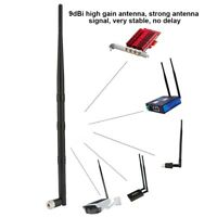2.4GHz 9dBi Wireless WiFi Antenna Aerial Cable for Network Card/Wifi Router/PC