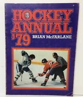 💥 OFFICIAL HOCKEY ANNUAL '79 Brian McFarlane SC Book