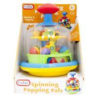 Kids Spinning Popping Pals Toy Baby Toddler Activity Toy Fun Children 6+ Months