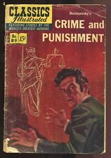 CLASSICS ILLUSTRATED No.89: CRIME AND PUNISHMENT