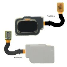 For Samsung Galaxy A8 2018 Home Button Fingerprint Sensor Flex Cable Black A530F