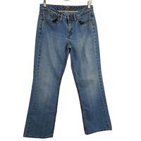 "Women's Vintage 90s Tommy Hilfiger BOYFRIEND Distressed ""MOM"" Blue Jeans Size 6"