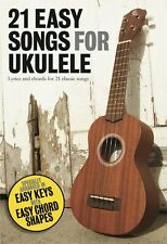 21 Easy Songs For Ukulele Beginners Learn How To Play Sheet Music Book NEW