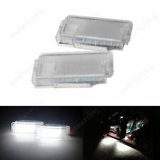 2x Citroën LED Door Trunk Footwell Luggage Light C2 C3 C4 C5 C6 C8 DS3 Dispatch