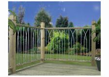 Plaza Metal Deck Decking Fence Fencing Panel Grey DPPS-EBAY