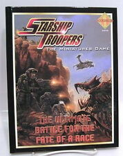 2005 STARSHIP TROOPERS The Miniatures Game Hardcover RPG Book- UNUSED
