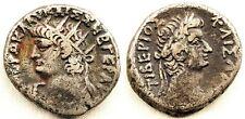 Roma-Neron y Tiberio. Tetradracma 66-67 d.C. Alejandria MBC+/VF+ Plata 13,1 g.