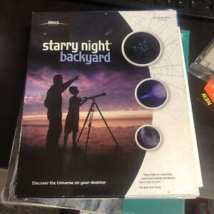 Starry Night: Backyard 4.x COMPLETE PC MAC CD Astronomy Stars