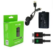 Rechargeable Battery Pack && Cable Charging Charger For Xbox One S X Control