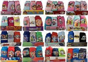 Boys Girls Kids 3 or 5 Pack Cotton Briefs Knickers Underwear Pants 2-10 Years