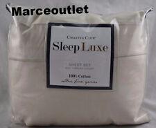 Charter Club Sleep Luxe 800 Thread Count King Extra Deep Sheet Set Linen