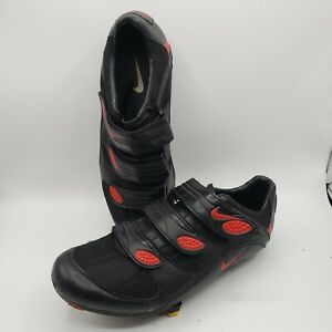 Nike Ventoux 920957 80689 Cycling Shoes 9.5 Black/Sport Red