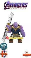 Marvel Avengers Thanos Mini Figure End Game Dark Soul Catcher Sword UK Seller