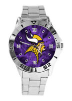 NFL Minnesota Vikings Watch Men Stainless Steel