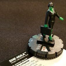 SHE-HULK - 024 - Uncommon Figure Heroclix Avengers Infinity Set #24