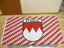 Fahnen Flagge Franken Wimpel 28 x 142 cm