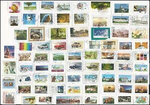 100 verschiedene, selbstklebende Sondermarken BUND - gestempelt - aus 2000-2021