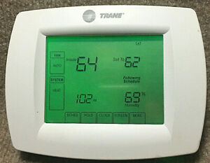Trane TconT803AS32DAA Programable Touch screen Thermostat