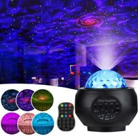 Bluetooth Starry Projector Lights Built-in Speaker Remote Control Night Light