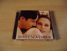CD Soundtrack Sweet November - 2001 - 13 Songs