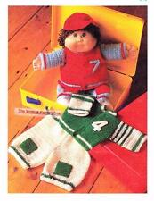CABBAGE PATCH OUTFIT  - COPY doll crochet pattern