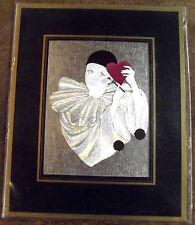 Ancienne Lithographie poster carton Piero