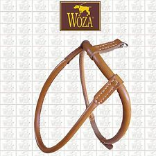WOZA CHOW-CHOW HARNESS LEATHER HARNESS FOR DOG ROLLED GENUINE COW LEATHER HCC772