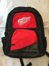 Detroit Red Wings NEW High End Backpack . NHL Hockey School Youth NWT Fun Kids