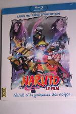 """BLU-RAY """"Naruto Et La Princesse Des Neiges"""" (Le Film) NEUF SOUS BLISTER"""