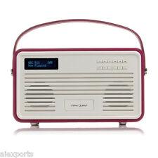 View Quest Retro Dab+ Radio with Lightning Dock - Purple