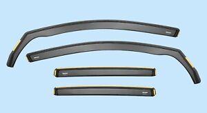 Wind Deflectors Sun Visor for VOLKSWAGEN GOLF mk6 5-doors 2008-2013 4-pc Tinted