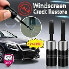 2×SET Automotive Glass Nano Repair Fluid Car Windshield Rapid Repair Crack T9M1