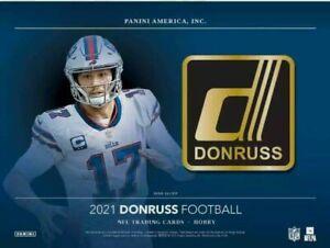 HOUSTON TEXANS 2021 PANINI DONRUSS HOBBY FOOTBALL 3 BOX TEAM BREAK #4 1/6 CASE