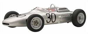 AUTOart 1/18 Porsche 804 F1 '62 # 30 (France GP win / Dan Gurney) finished produ
