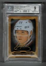 2013-14 UD Ultimate Signature Masterpiece Brendan Gallagher RC Auto BGS 9 MINT