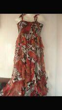 Cravate Nœud nœud pour femme bustier robe longue Mesdames boobtube bandeau robe taille 8-26