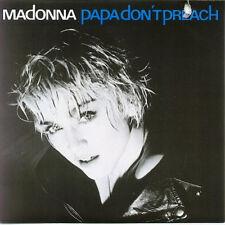 "MADONNA - Papa Don't Preach (ps)  7"" 45"