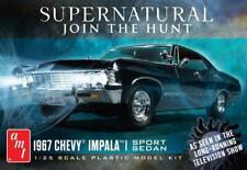 AMT 1124 '67 Chevy Impala 4 Door Supernatural Nighthunter plastic model kit 1/25