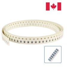 50pcs 1 ohm Ω 1R 1R0 5% 1/8W 0805 (2012) 2mm×1.2mm SMD Chip Resistor. CANADA